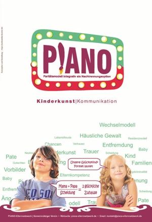 Informationsflyer PIANO